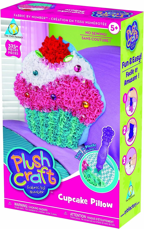 Amazon.com: Artesanías de peluche, almahada cupcake ...