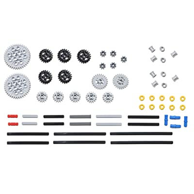 LEGO 61pc Technic gear & axle SET #2: Toys & Games