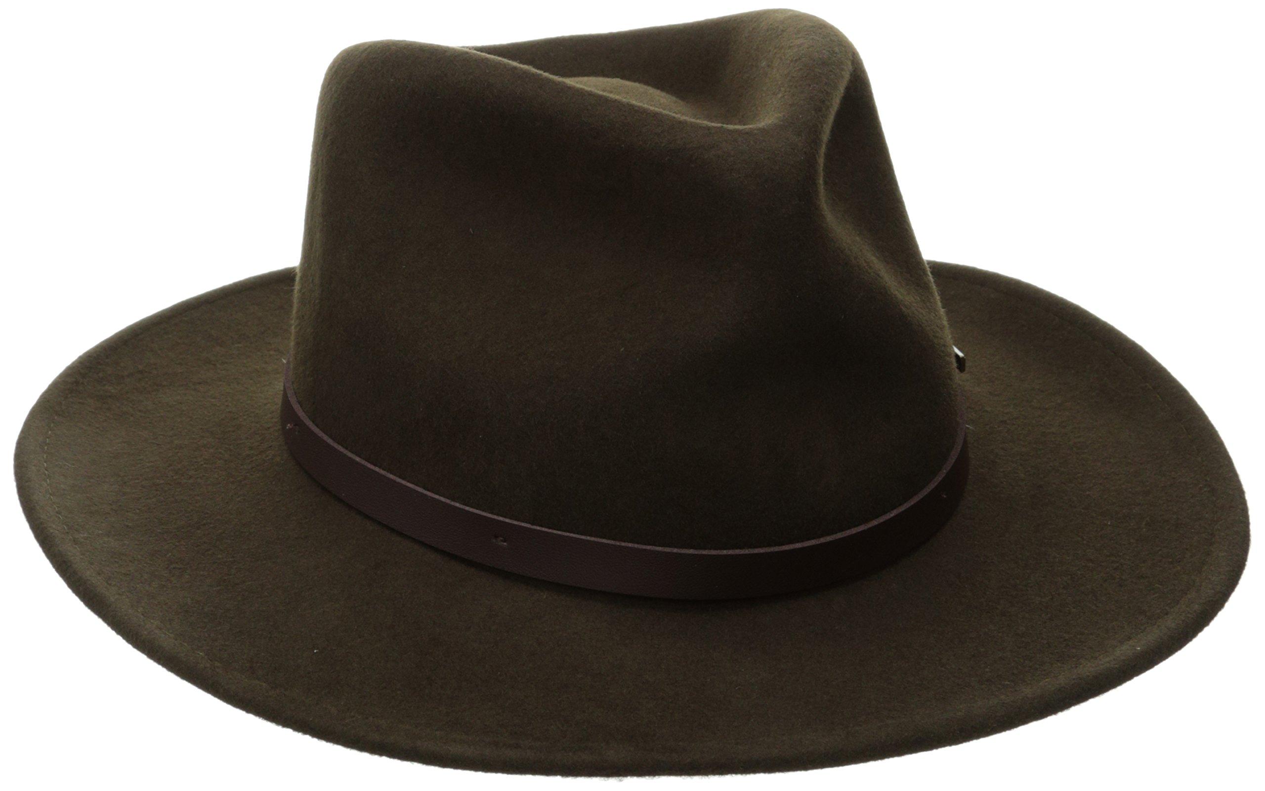 37d0972a196fe Woolrich Men s Crush Felt Outback Hat