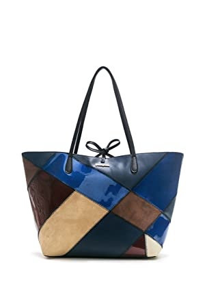 ed5abbadaa DESIGUAL SAC FEMME CAPRI TITAN 17WAXPB0 bleu: Amazon.fr: Chaussures ...