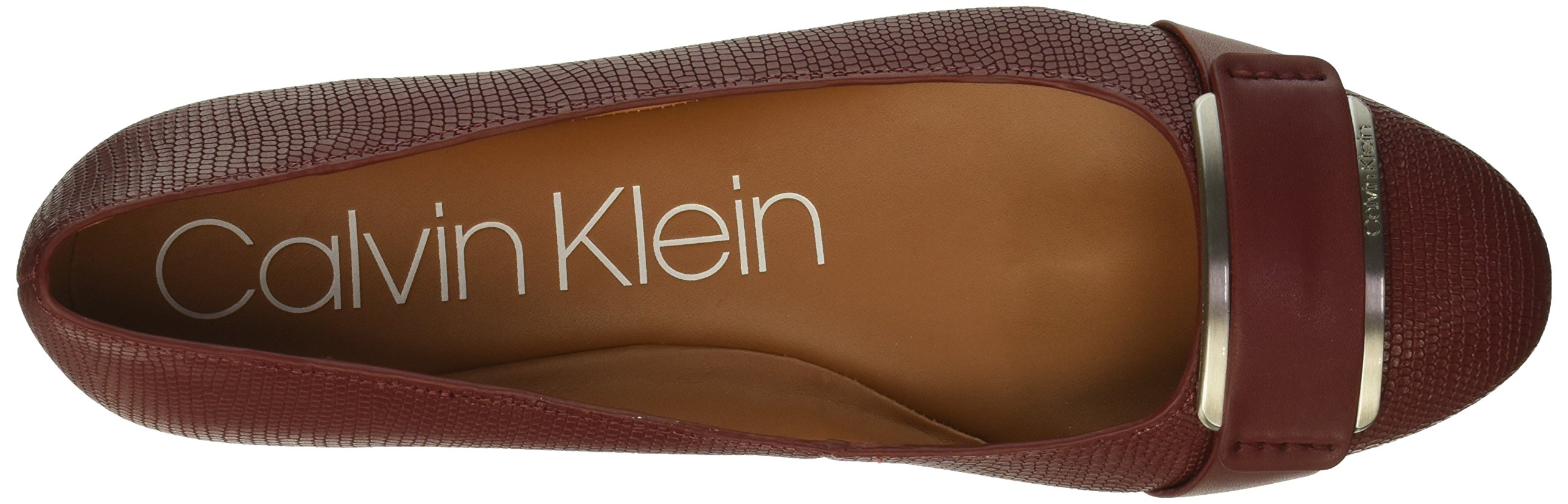 Calvin-Klein-Women-039-s-Oneta-Ballet-Flat-Black-5-M-Choose-SZ-color thumbnail 18