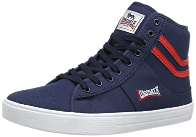 Lonsdale Clarksville, Men's Multisport Outdoor Shoes, Blue (Navy/Red), 9