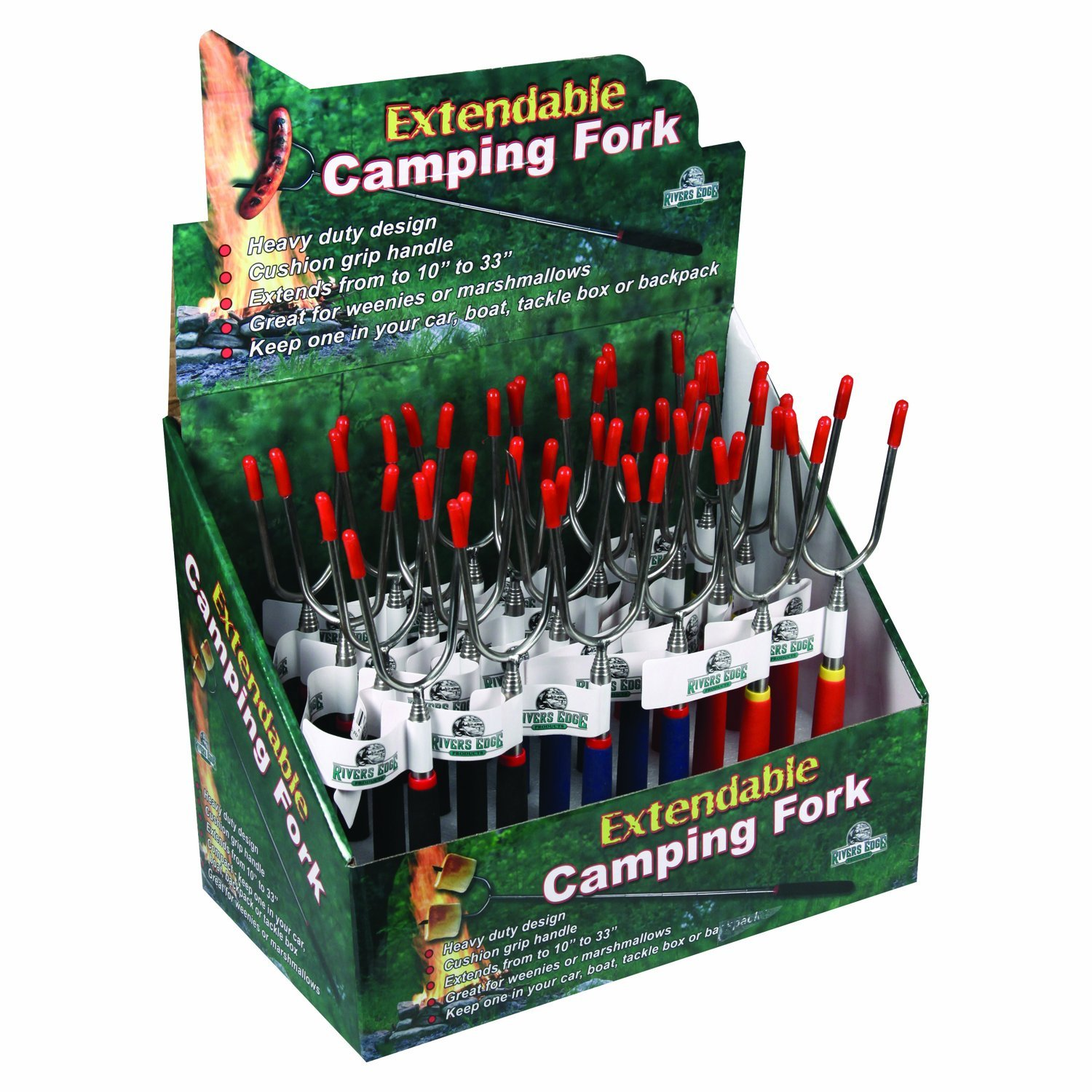 911 Rivers Edge Products Rep Marshmallow Roasting Forks Sportsman Supply Inc