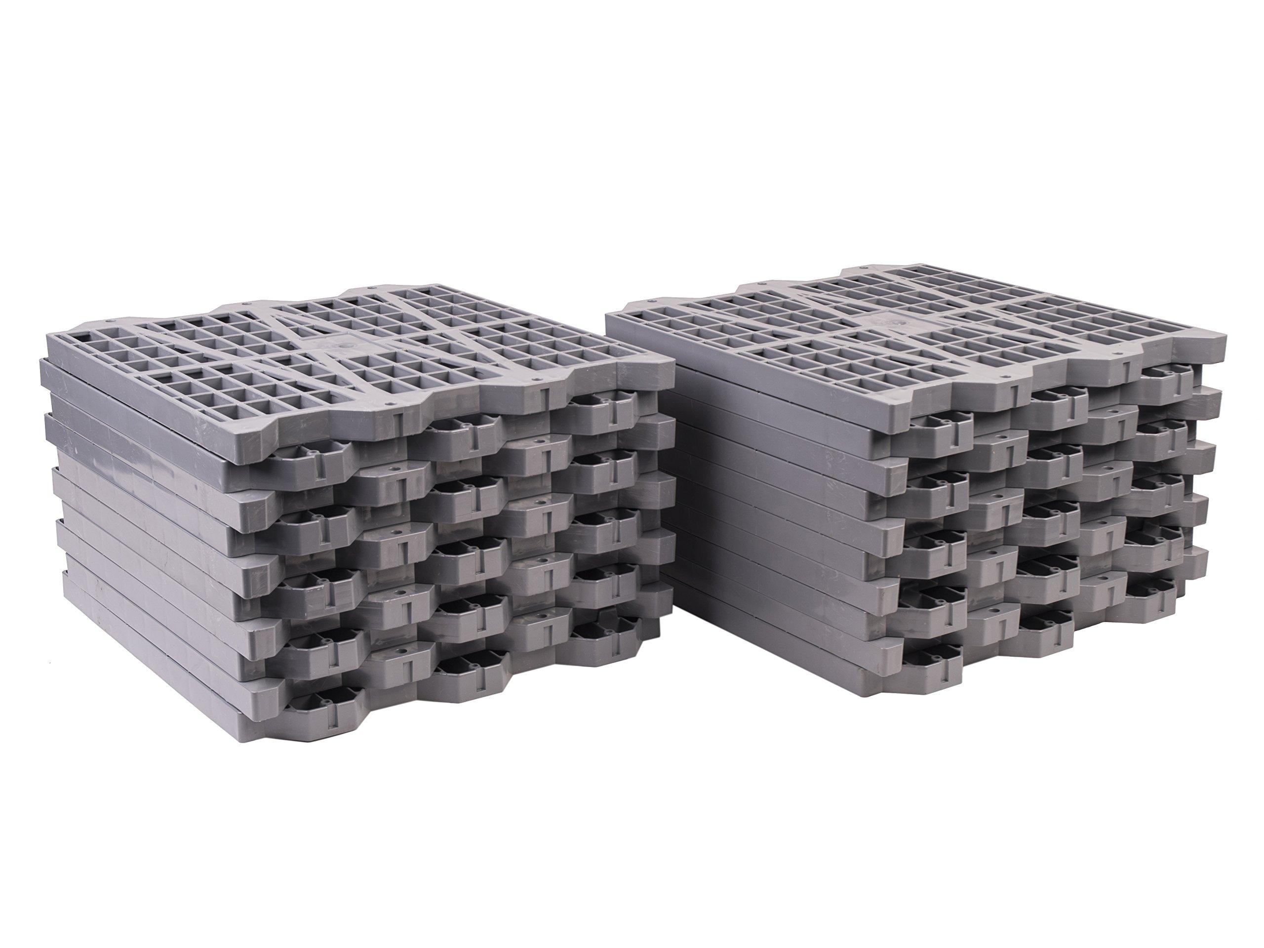 Metro Products 16''x16'' Attic Dek Flooring, 20-Pack