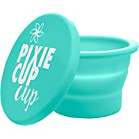 Pixie Cup Cup - Collapsible Silicone Cup for Sterilizing Menstrual Cups and Storing Your Period Cup - Foldable for…