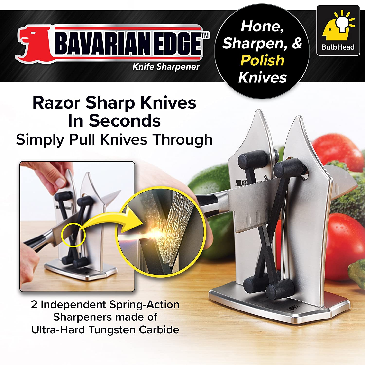 Best Knife Sharpener Reviews 2019: Top 5+ Recommended 6