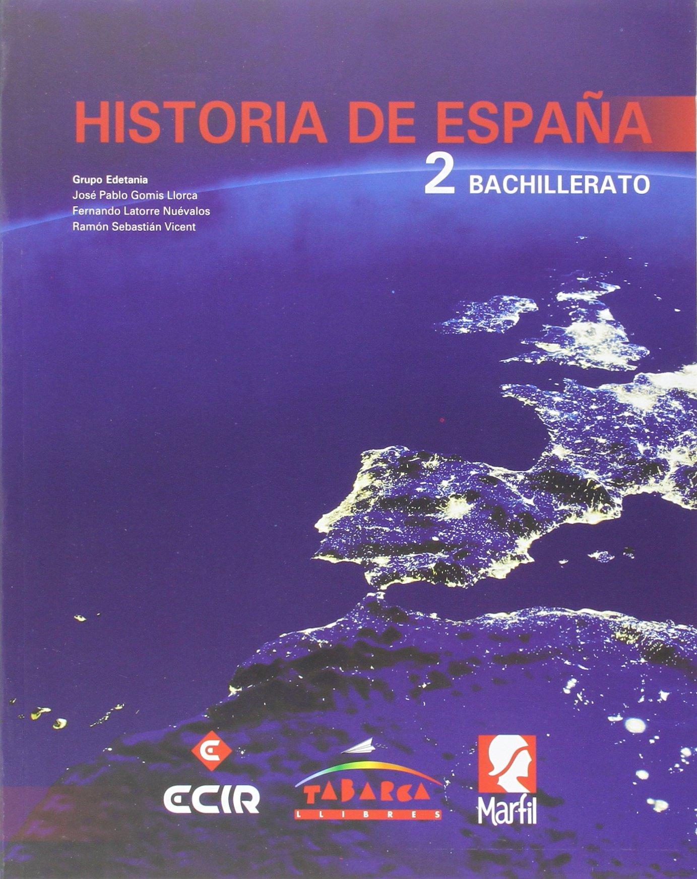 Historia de España 2º - 9788480253567: Amazon.es: Gomis Llorca, José Pablo, Latorre Nuévalos, Fernando, Sebastián Vicent, Ramón: Libros