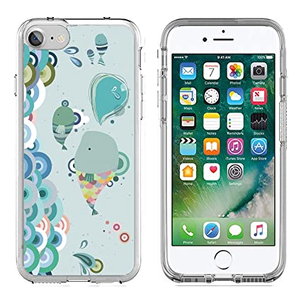 Amazon Com Msd Apple Iphone 7 Iphone 8 Clear Case Soft Tpu