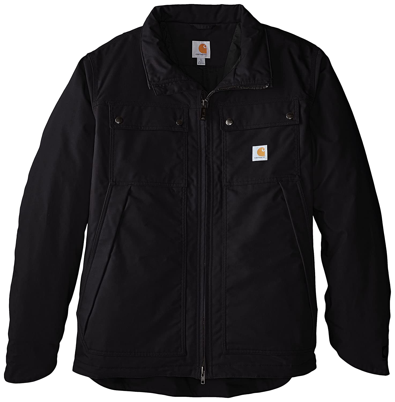 Carhartt メンズビッグ&トール クイックダックジェファーソントラディショナルジャケット B00JK7MG06 3L ブラック ブラック 3L
