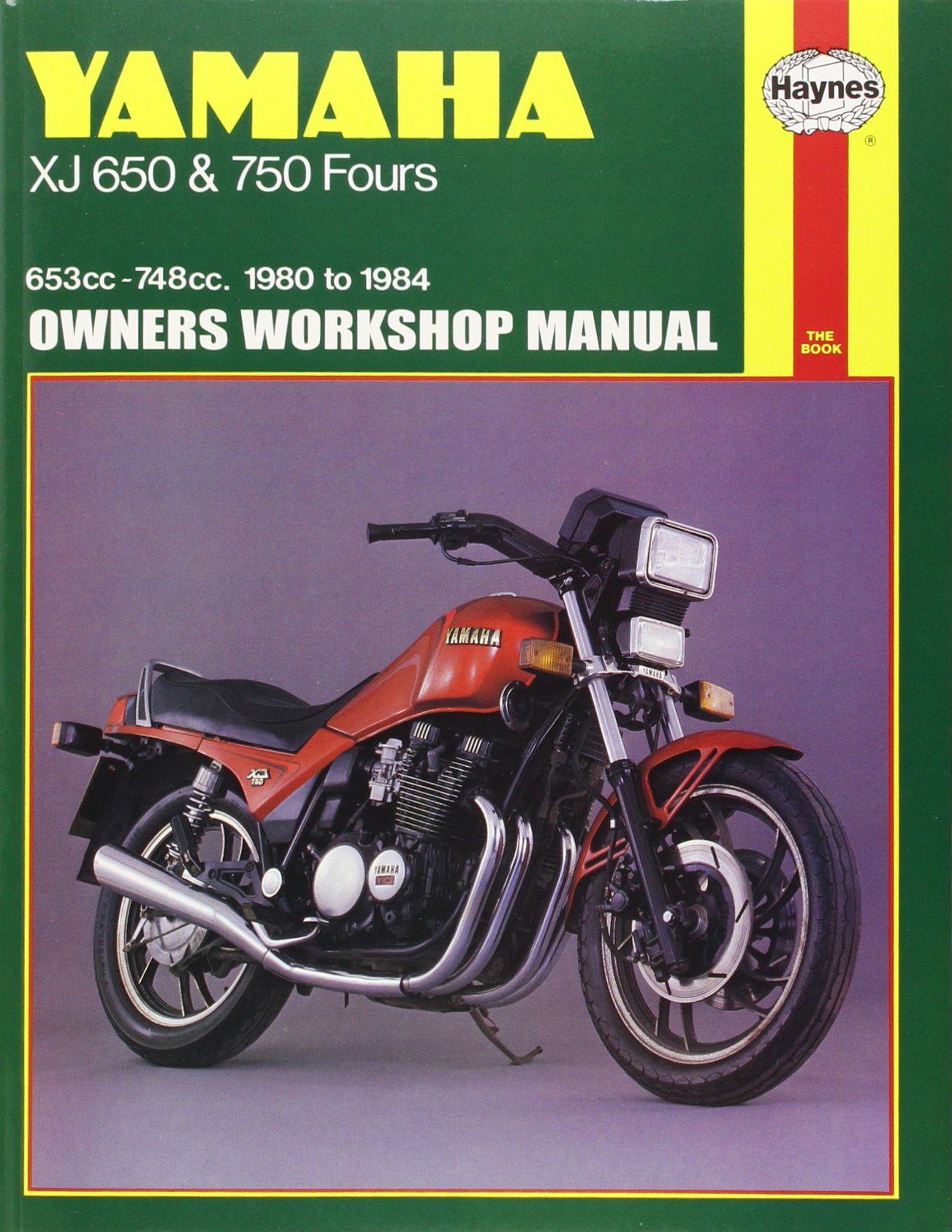 Yamaha Xj 650 And 750 Fours Owners Workshop Manual No M738 80 1983 Xj550 Wiring Diagram 84 John Haynes 9781850103530 Books