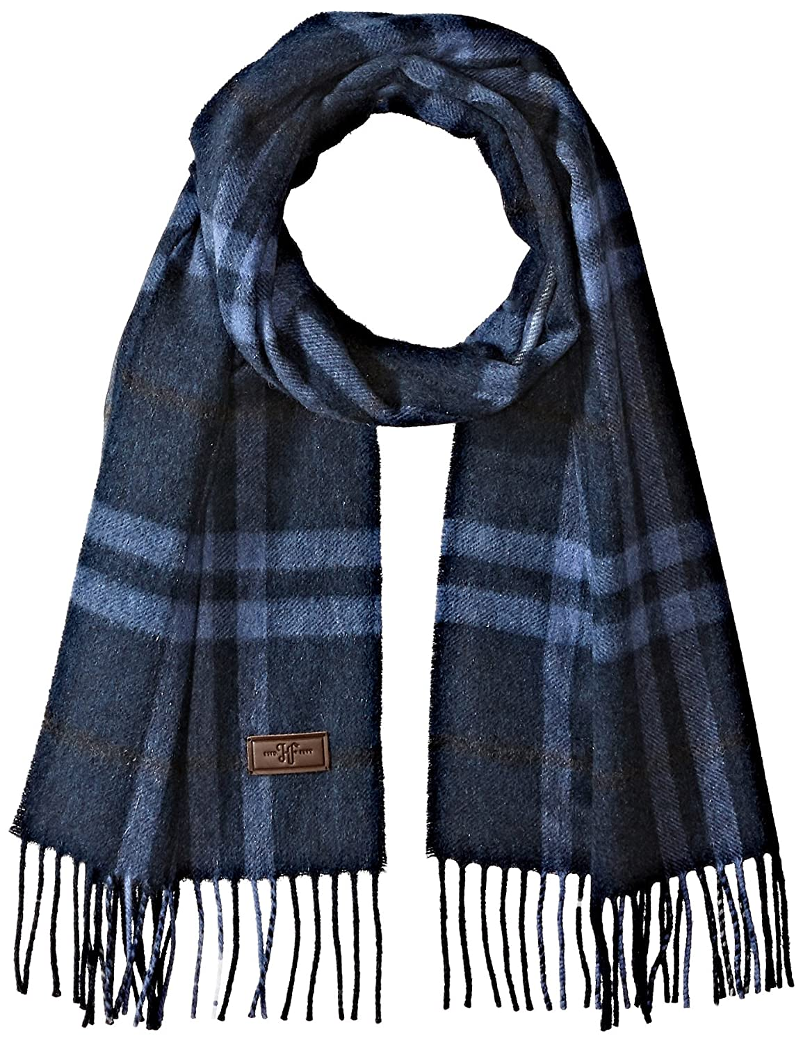 72 inches x 12 inches by Hickey Freeman 100/% Italian Cashmere Men/'s Cashmere Scarf