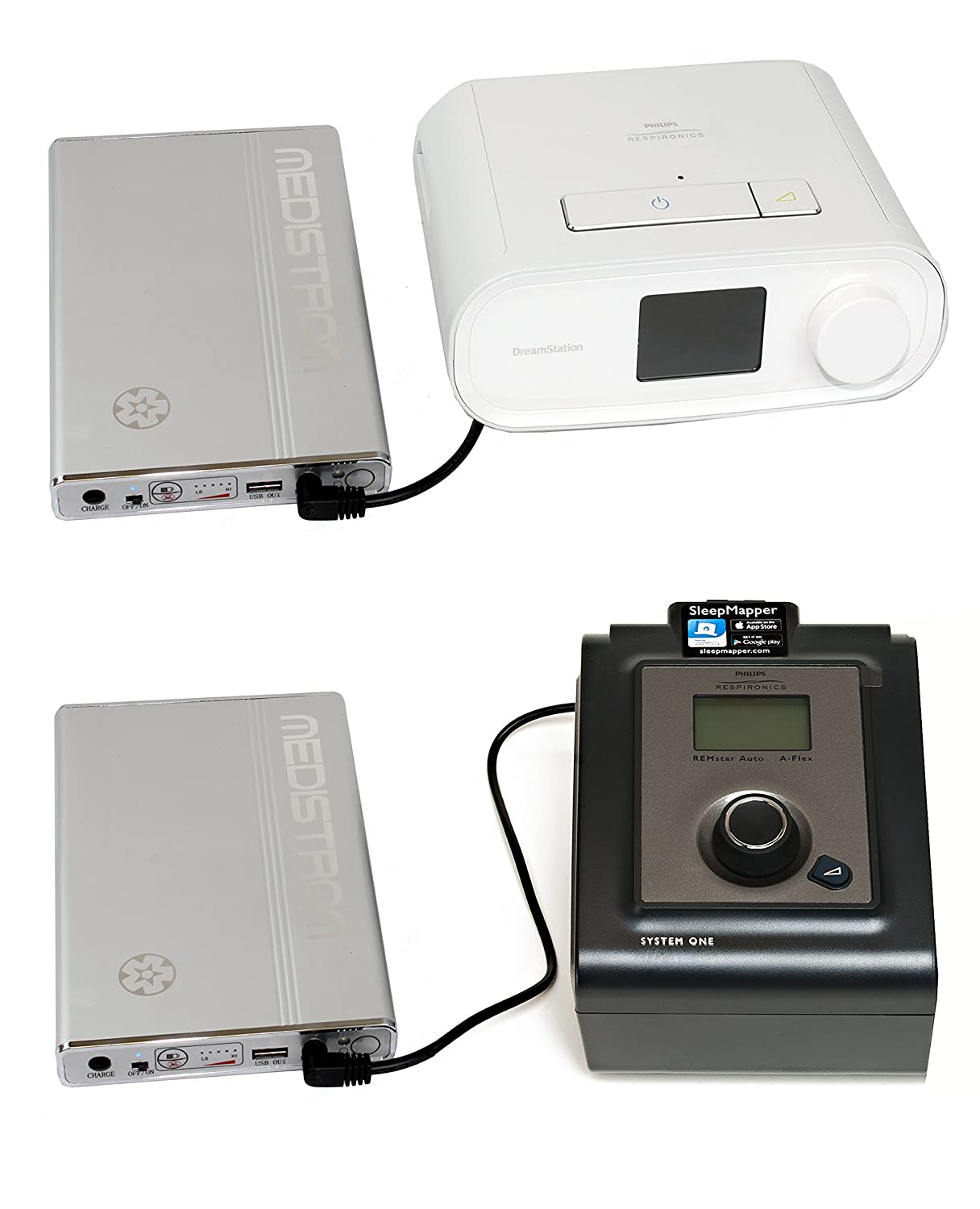 CPAP Battery for Respironics DreamStation and RemStar