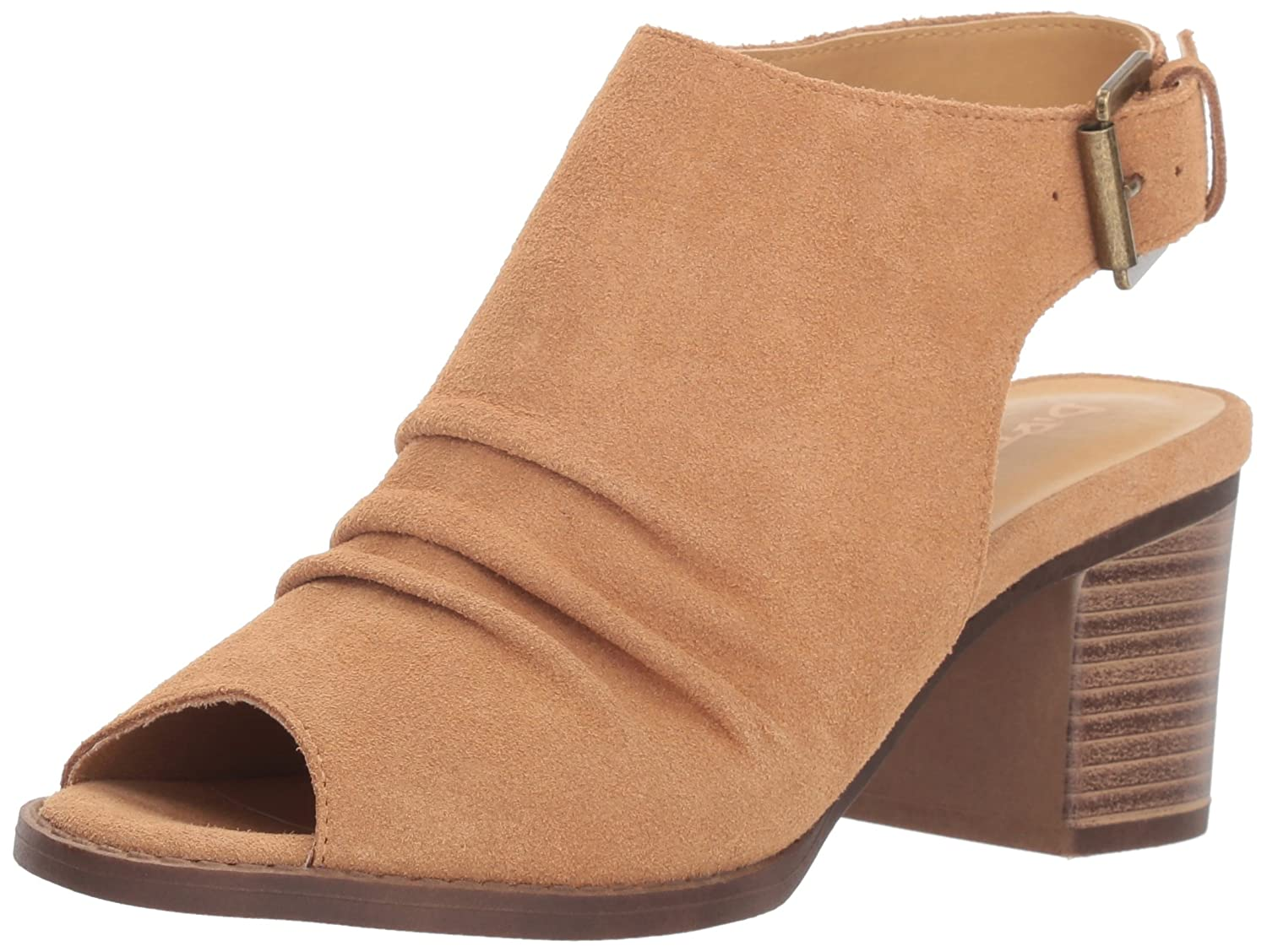 Dirty Laundry Women's Tena Ankle Boot B07BFDYWHN 5.5 M US|Camel Suede