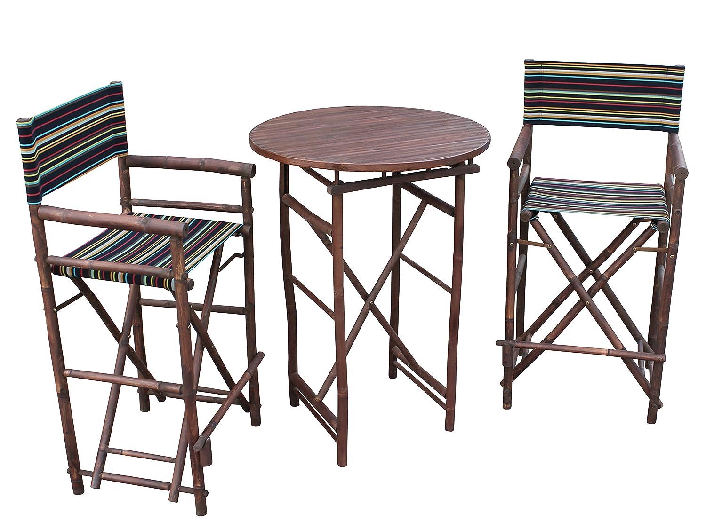 Amazon.com: zew set-016 – 6-10 1 alta Mesa Redonda y 2 ...