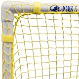 "Park & Sun Sports Bungee-Slip-Net Replacement Nylon Goal Net: Soccer/Multi-Sport Goal, Yellow, 54"" W x 44"" H x 24"" D"
