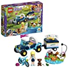 LEGO 41364 Friends Stephanie's Toy Buggy & Trailer, Stephanie mini-doll and Action Figures, Fun Playset for Kids