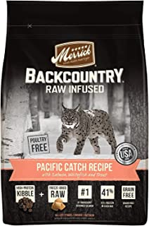 product image for Merrick Backcountry Grain Free Raw Infused Dry Dry Cat Food