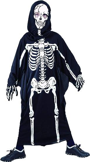 Halloween Kostuem Skelett Amazon.Magicoo Horror Skelett Kostum Kinder Jungen Schwarz Weiss Gruseliges Zombie Halloween Kostum Jungen Gr 110 Bis 140 122 128 Amazon De Spielzeug