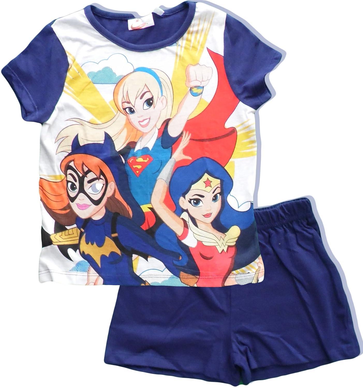 DC Superhero Girls Girls Summer Pajamas