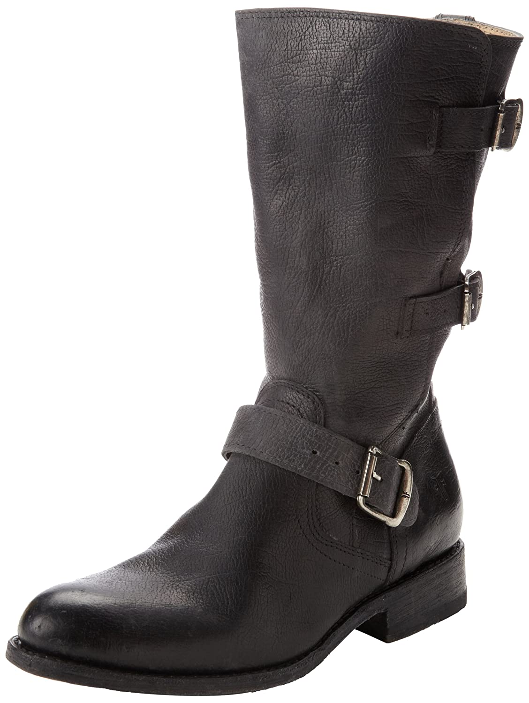 FRYE Women's Jayden Moto Cuff Boot B00ANNIT2A 7.5 B(M) US|Black