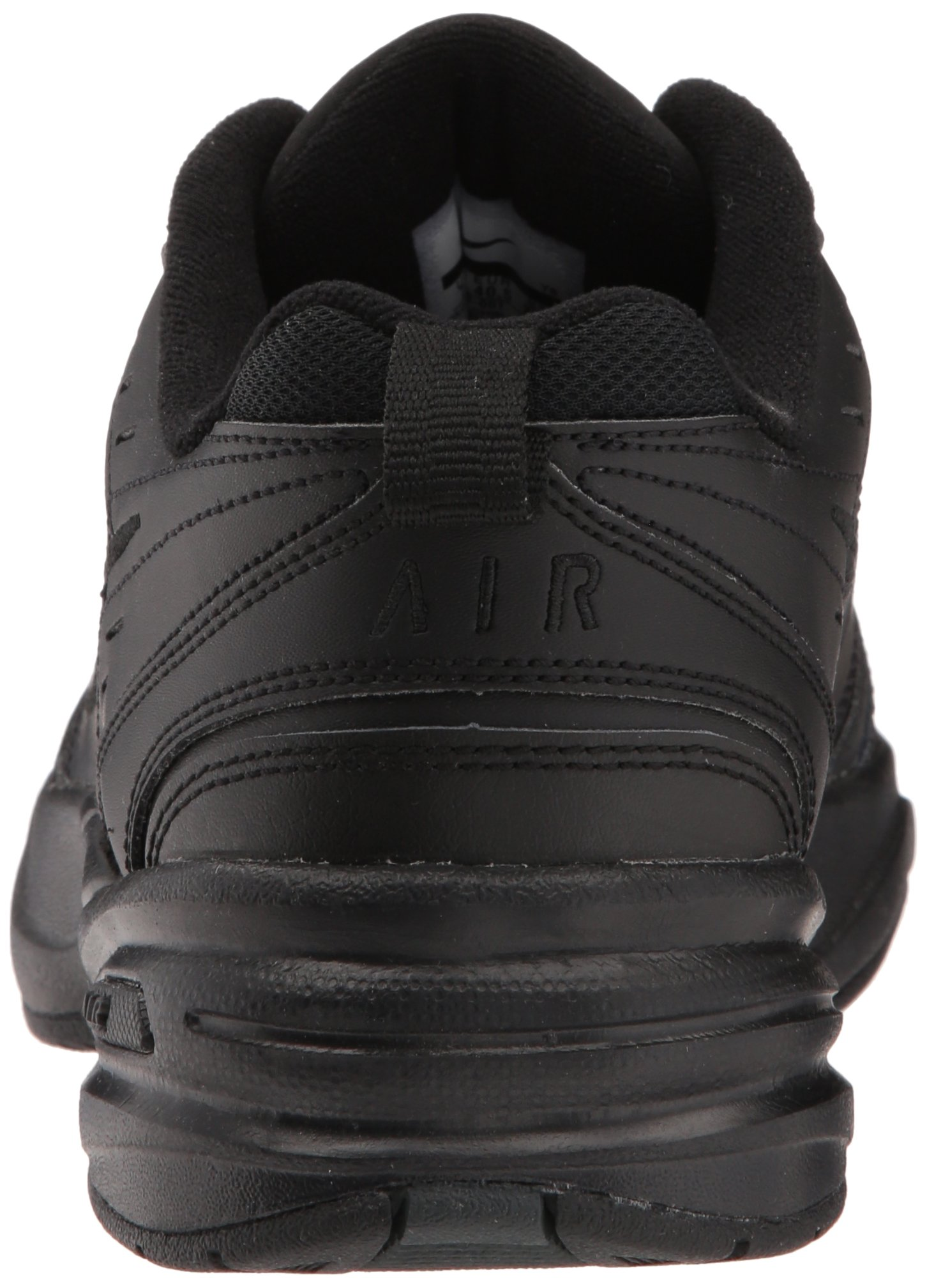 NIKE AIR MONARCH IV (MENS) - 6 Black/Black by Nike (Image #2)