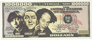 product image for The Three Stooges $Million Dollar$ Novelty Bill Collectible