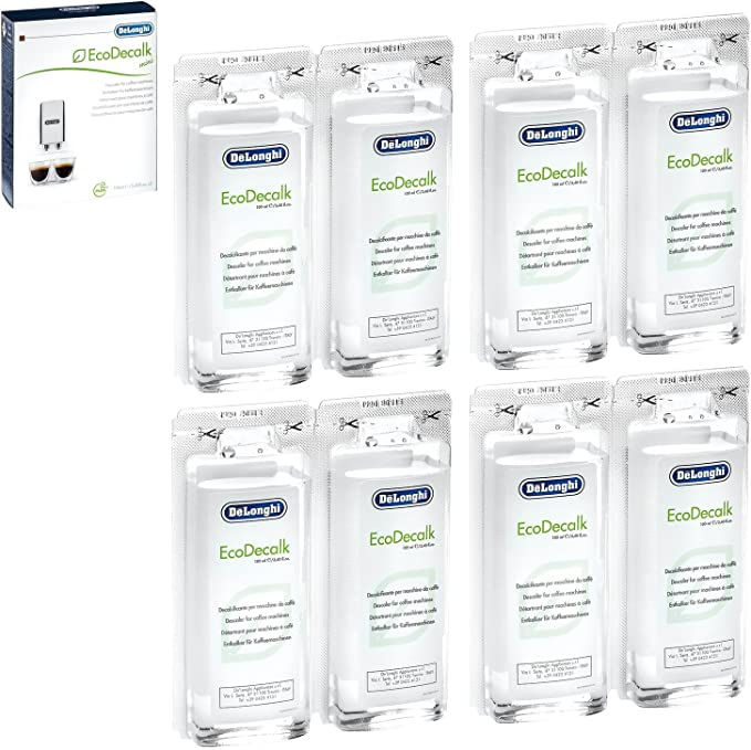 Amazon.com: DeLonghi Eco Mini Descalcificador, 3,4 onza ...