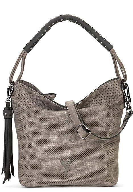 SURI FREY Beutel Romy Damen Handtaschen Uni grey kombi 899