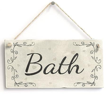 meijiafei baño - rústico país decoración del hogar Puerta de ...