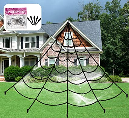 Amazon Com Aiduy Outdoor Halloween Decorations Scary Giant Spider