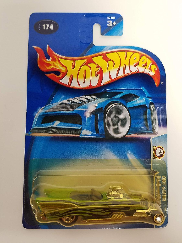 Chevy 1957 Wastelanders 8/10 2003 Hot Wheels diecast car No. 174