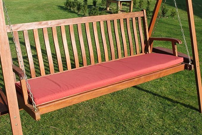 Cojín para muebles de jardín - Cojín para banco grande de jardín o ...