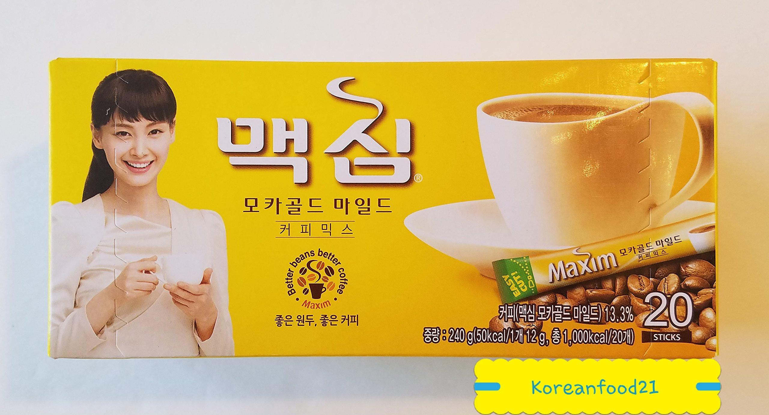 DONGSUH Maxim Mocha Gold Mild Coffee Mix (20sticks)