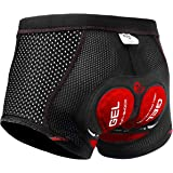 X-TIGER Men's Cycling Underwear Shorts 5D...