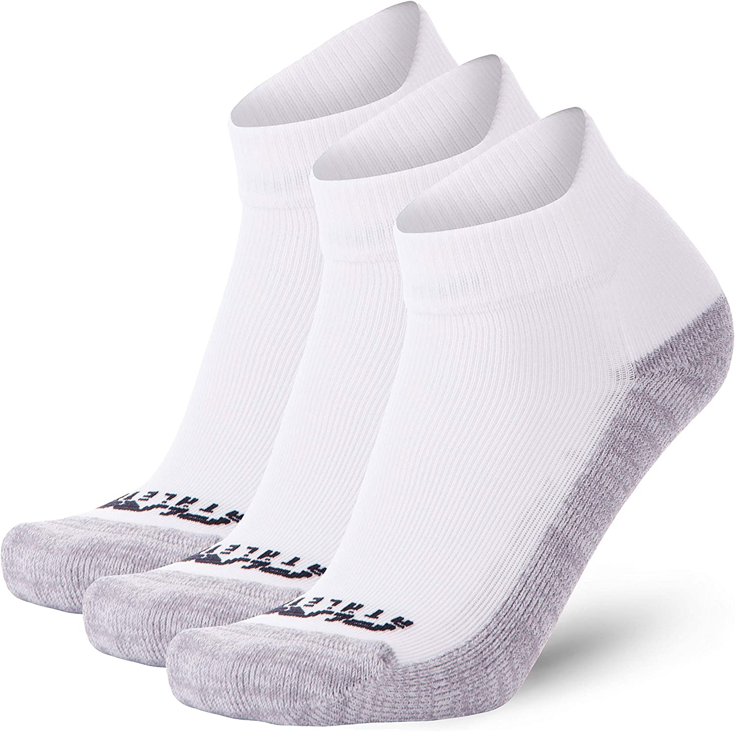Women Anti-Blister Athletic Sport Sock Padded Running Socks Men