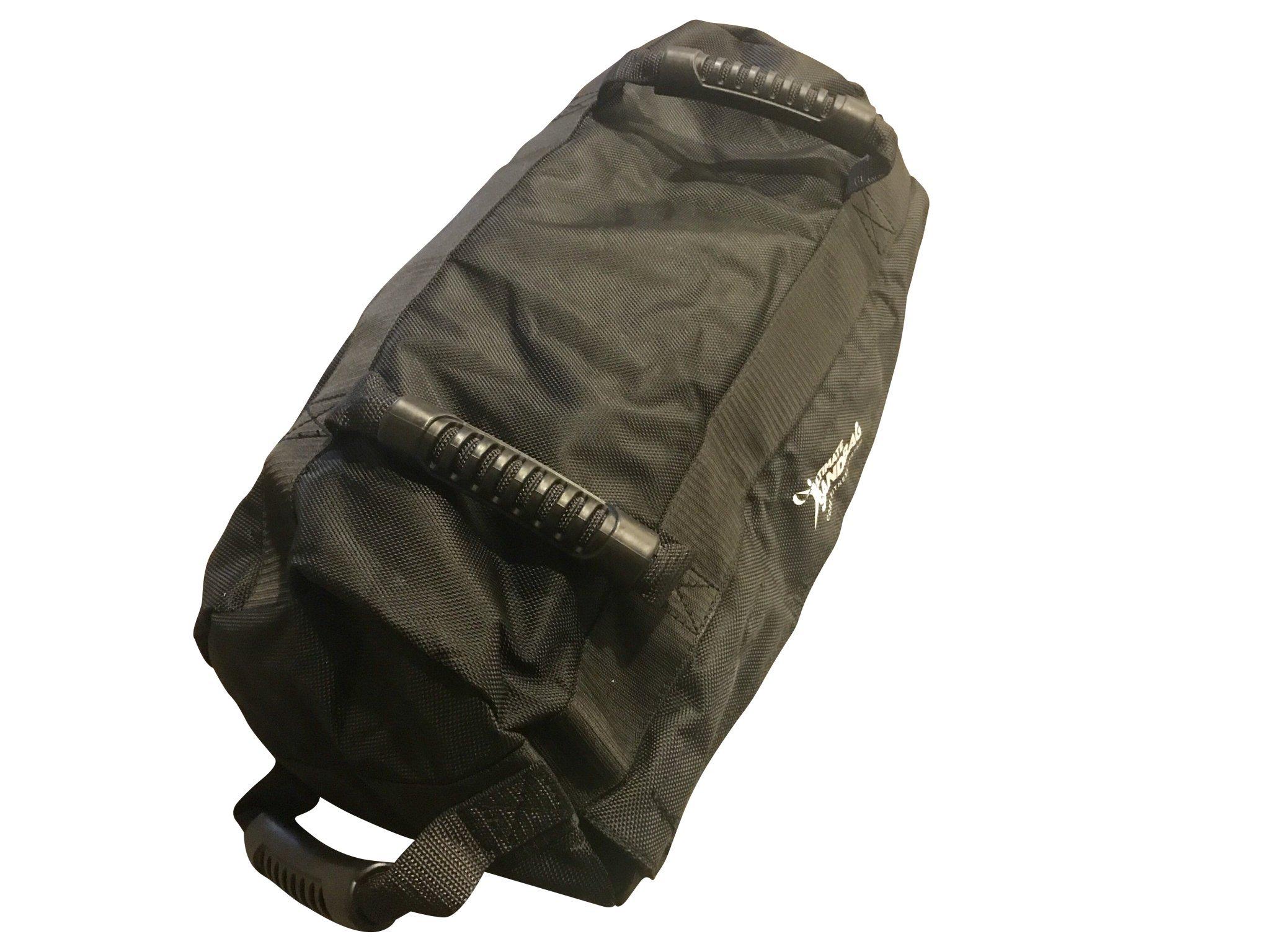 Ultimate Sandbag Kick Starter Adjustable Fitness Sandbag with Filler Bags 10-40lbs