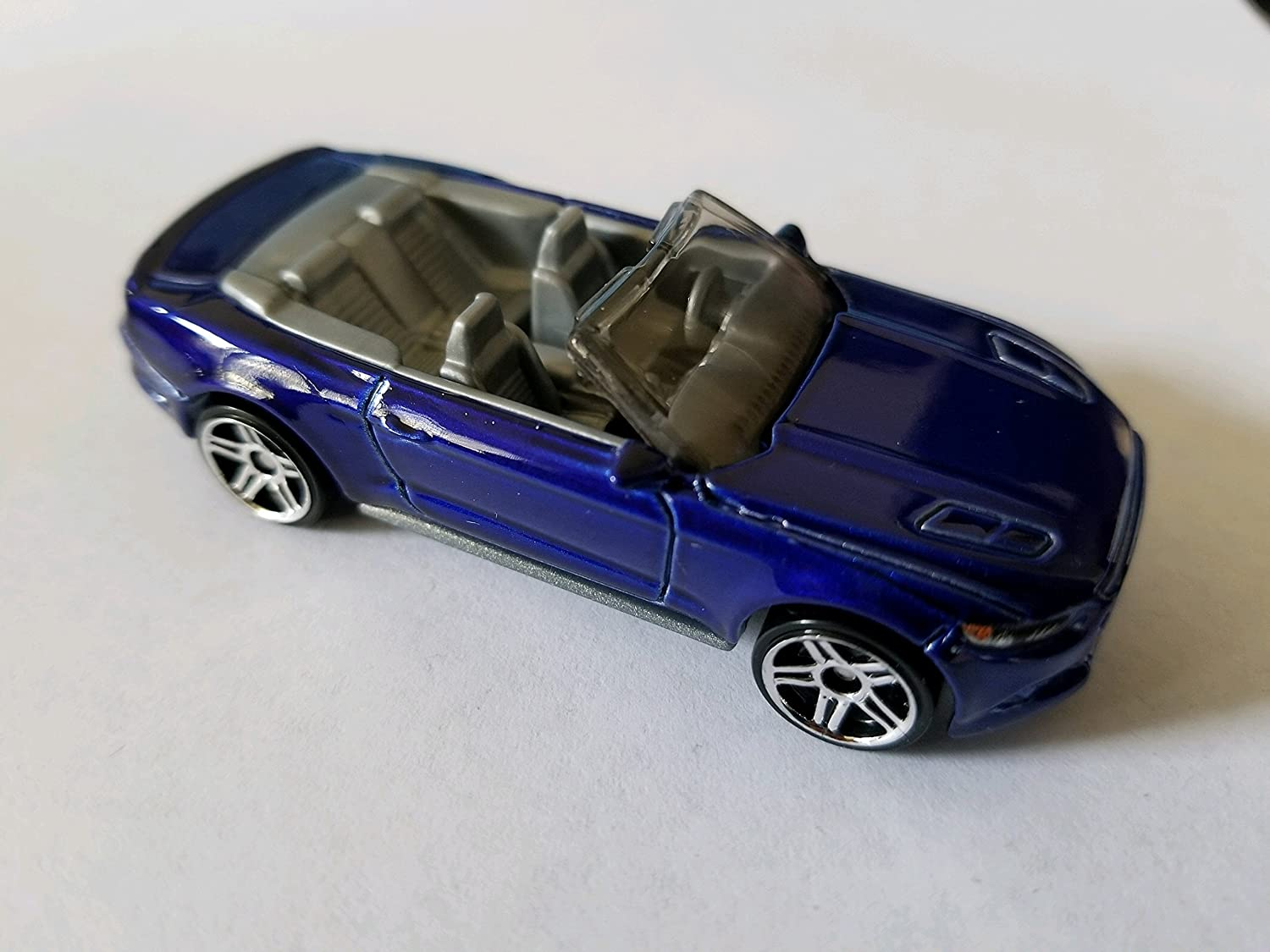 2015 Mustang Wheels >> Hot Wheels 2017 Factory Fresh 2015 Ford Mustang Gt Convertible 104 365 Blue