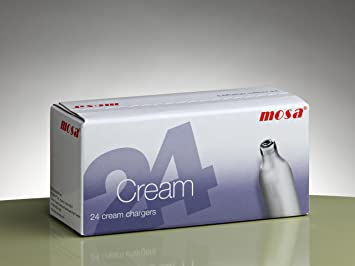Cargadores Crema (Caja de 24) – Óxido Nitroso (N2O) Gas para nata