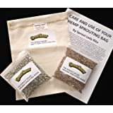 The Sprout House Hemp Sprouting Bag Kit for Sprouting Beans and Grains