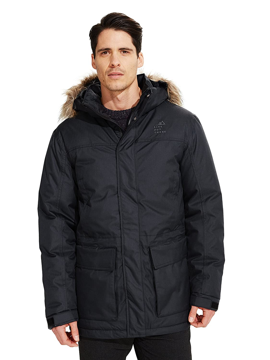 Live Out There OUTERWEAR メンズ B076TH2N12  Stretch Limo M