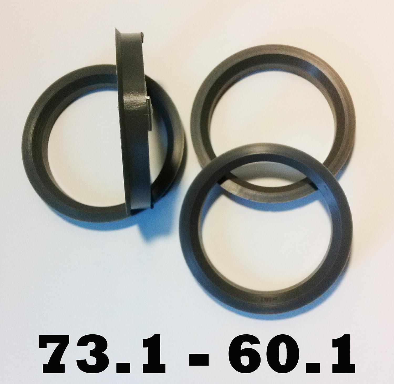 Bimecc 57.1-66.6 Hub Centric Spigot Rings Set Of 4 For Alloy Wheels AP666571 Red