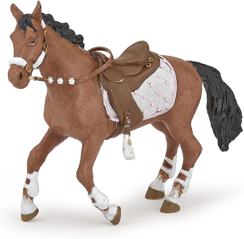 PAPO: Poulains et poneys-modèle 51544 JEUNE CAVALIER/'s Horse Figure Chevaux