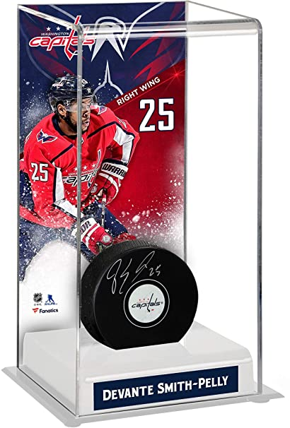 Devante Smith-Pelly Washington Capitals Autographed Puck with Deluxe Tall  Hockey Puck Case - Fanatics 7501655c2