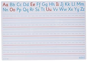 dry erase traceable letters