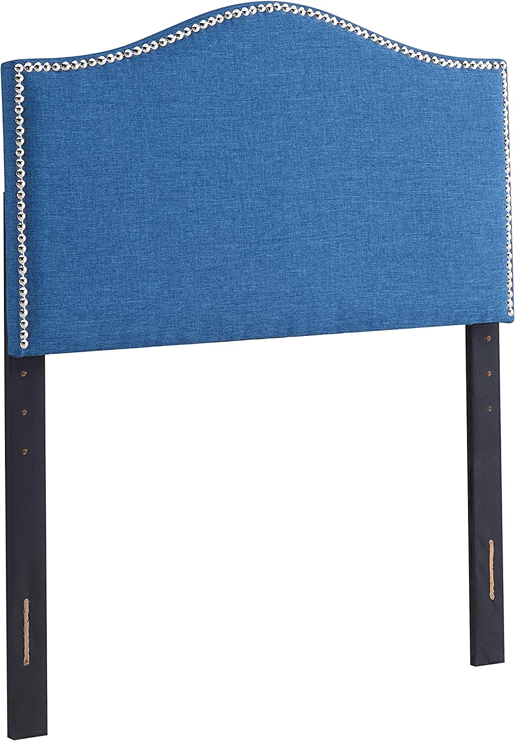 Urban Home Furniture Amanda Radius Twin Blue Headboard