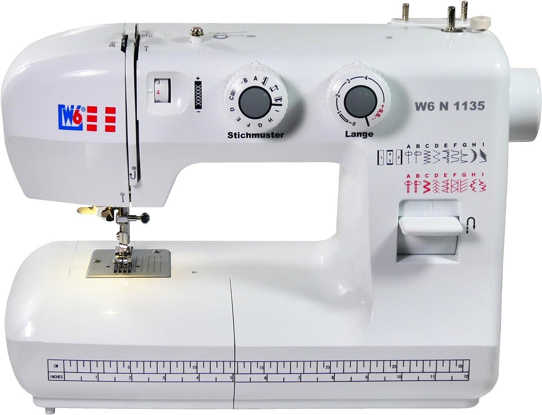 W6 máquina de Coser N 1233/61 Brazo Libre Super Costura con Aplicaciones-máquina de Coser con 10 años de garantía