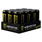 Monster Ripper Energy Juice Can 500 ml (Pack of 12)