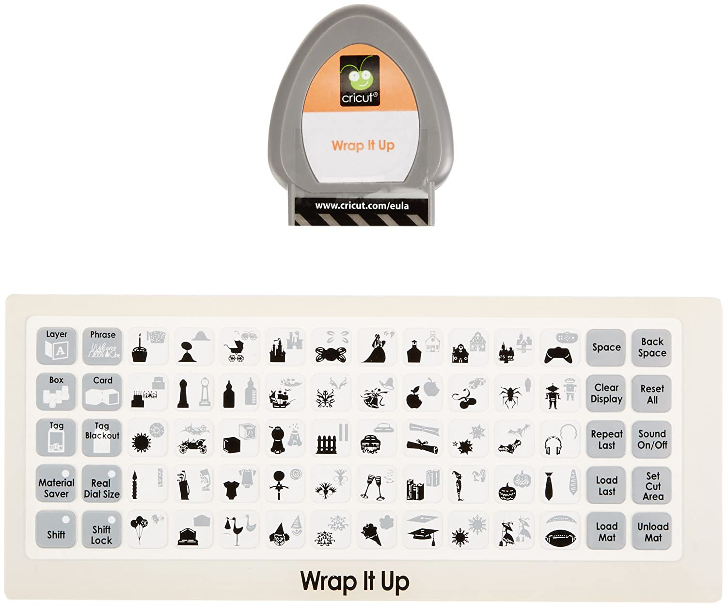 Amazon.com: Cricut Cartucho, Wrap It Up: Arte, Manualidades ...