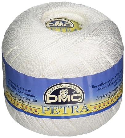Dmc Petra Crochet Cotton Thread Size 3 Amazonin Home Kitchen
