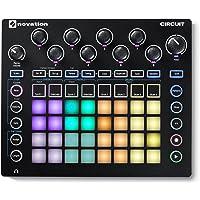 Novation Circuit Groove Box mit Sample Import, 2-Part Synthesizer mit 4-Part Drum Machine und Sequencer